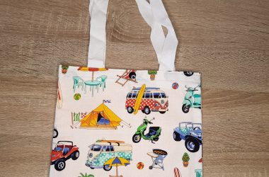 A tote bag by Billie's Handcrafted Gifts