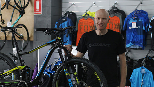 andrew from wagga cycle centre