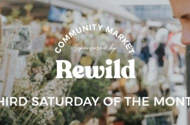 Rewild Community Markets logo