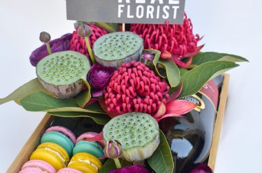 Bouquet from the Real Florist Albury