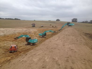 Road building with Holbrook Earthmoving